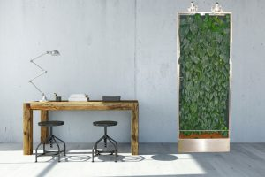 Green Boards mit Hydrokulturpflanzen